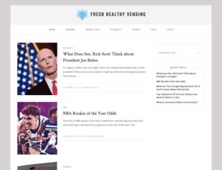 freshhealthyvending.com screenshot