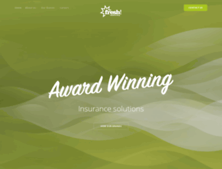 freshinsurance.co.uk screenshot