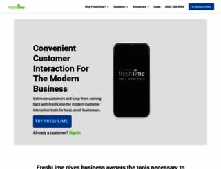 freshlime.com screenshot