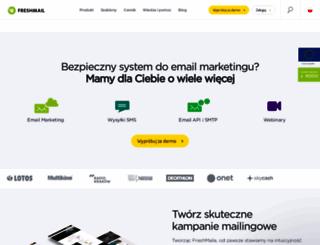 freshmail.pl screenshot