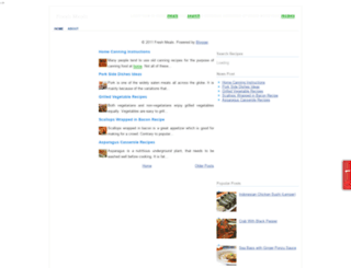 freshmeals.blogspot.com screenshot