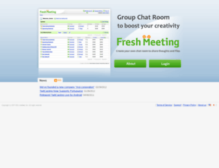 freshmeeting.com screenshot