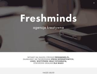 freshminds.pl screenshot
