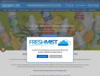 freshmist.co.uk screenshot