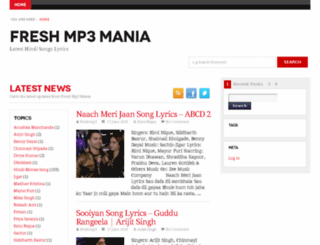 freshmp3mania.com screenshot