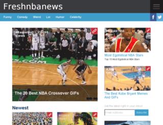 freshnbanews.com screenshot