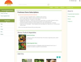 freshnessfarms.csaware.com screenshot