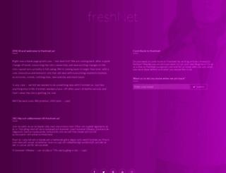 freshnet.se screenshot
