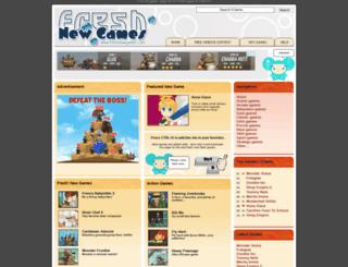 freshnewgames.com screenshot