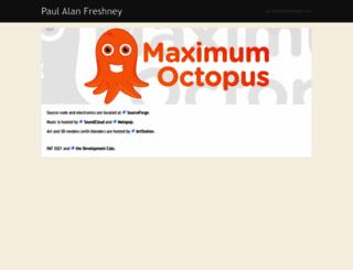 freshney.org screenshot