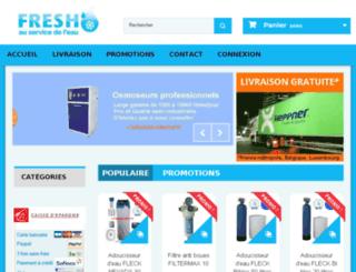 fresho.fr screenshot