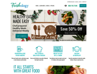 freshology.com screenshot