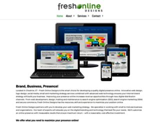 freshonlinedesigns.com screenshot