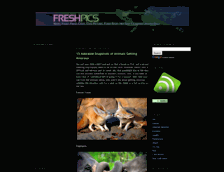 freshpics.blogspot.com screenshot