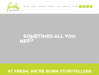 freshpr.com.au screenshot