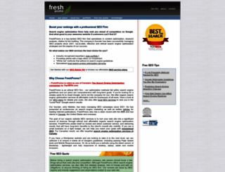 freshpromo.ca screenshot