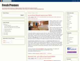 freshpromos.blogspot.com screenshot