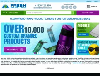 freshpromotions.com.au screenshot