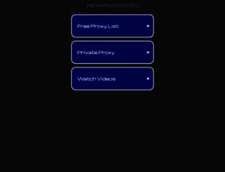 freshproxylist.org screenshot