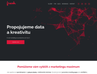 freshservices.cz screenshot