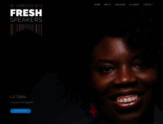 freshspeakers.com screenshot