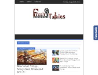 freshtalkies.com screenshot