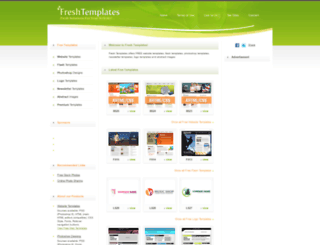 freshtemplates.com screenshot