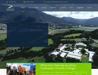 freshwatercc.qld.edu.au screenshot