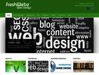 freshwebz.co.uk screenshot