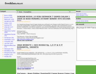 fresiklan.cu.cc screenshot