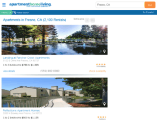 fresno.apartmenthomeliving.com screenshot