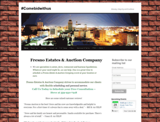fresnoauctioncompany.com screenshot