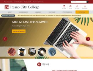 fresnocitycollege.edu screenshot
