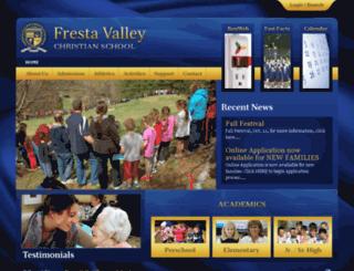 frestavalley.org screenshot