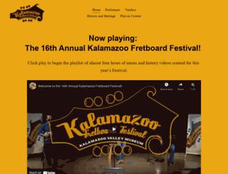 fretboard.kvcc.edu screenshot