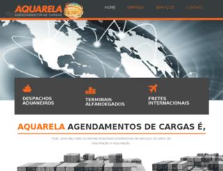 fretesaquarela.com.br screenshot