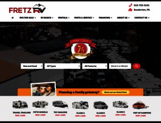 fretzrv.com screenshot