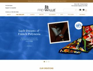 frey-wille.com screenshot