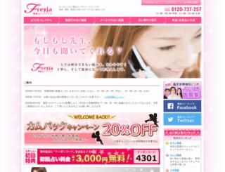 freyjanet.com screenshot