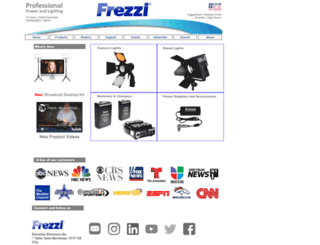 frezzi.com screenshot