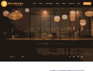 fri-chicks.com screenshot