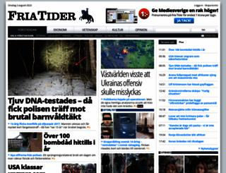 friatider.se screenshot