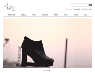 fricashoes.com screenshot