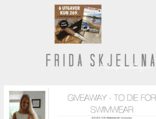 fridaskjellnan.blogg.no screenshot