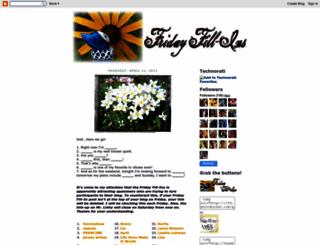 fridayfillins.blogspot.com screenshot
