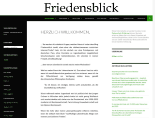 friedensblick.de screenshot