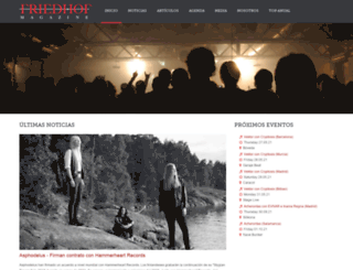 friedhof-magazine.com screenshot