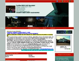 friendlyatlantahomes.com screenshot