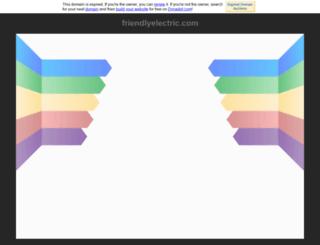 friendlyelectric.com screenshot
