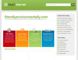 friendlyenvironmentally.com screenshot